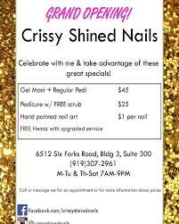 crissy shined nails 30 photos nail technicians 6512 six