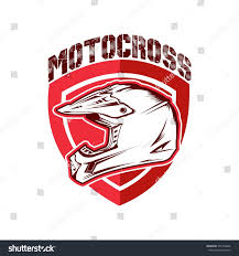 animal motocross helmet motocross helmet vector illustration stock vector 597739646