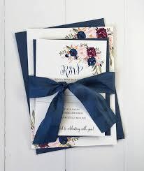 Navy Blue Wedding Invitations The 25 Best Navy Wedding Invitations Ideas On Pinterest Wedding