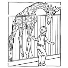 25 free printable zoo coloring pages