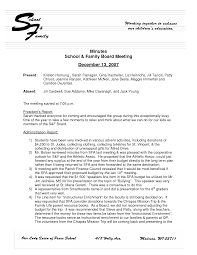 word template meeting minutes sample of executive summary of a report