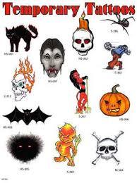 temporary halloween skull cat tattoo designs tattoos book