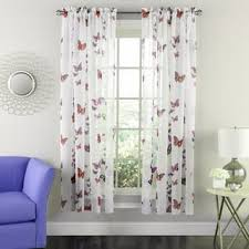 Sheer Pink Curtains Pink Sheer Curtains For Less Overstock Com