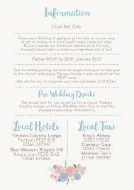 Wedding Invitations Hotel Accommodation Cards Wedding Invitation Wording Open Bar Yaseen For
