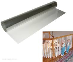 Banister International Kid Baby Banister Gate Roll Clear Plastic Guard Stairway Safety