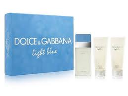 dolce and gabbana light blue gift set dolce gabbana light blue set my parfums pinterest