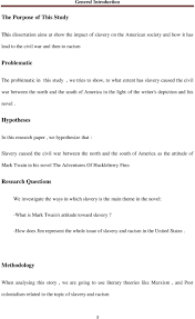 sample narrative essay pdf huck finn essay questions slavery in mark twain the adventures of slavery in mark twain the adventures of huckleberry finn pdf hypotheses in this research paper we