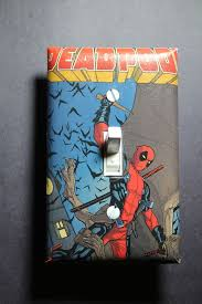 Comic Book Room Decor Deadpool Bedroom Decor Descargas Mundiales Com