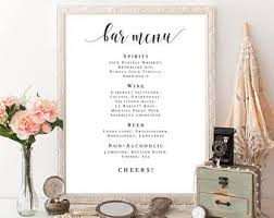 best 25 wedding bar menu ideas on pinterest wedding drink menu