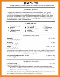 Junior Accountant Sample Resume by 10 Sample Accounting Resume Rn Cover Letter