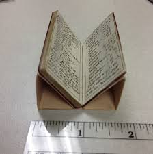 Miniature by How To Make Miniature Book Mounts With Everyday Library Supplies