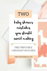 the cool mom u0027s blog two baby shower mistakes you should avoid