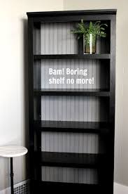 Diy Bookshelves Cheap by Diy Stock Book Shelf Update With Beadboard Book Shelves Shelves