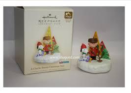 hallmark 2006 a charlie brown christmas tree ornament club koc