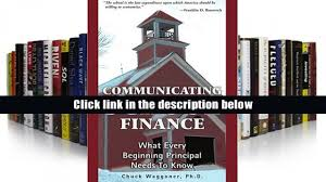 read online communicating finance what every beginning
