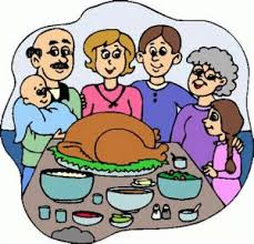 thanksgiving dinner clipart special day celebrations