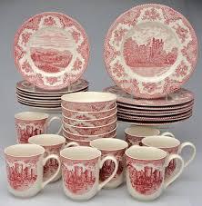 Johnson Brothers Dinnerware Dinnerware Johnson Johnson Brothers Britain Castles Pink 1883 St At