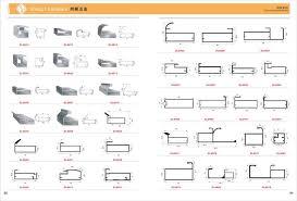 Kitchen Cabinet Door Profiles Aluminium Door Profile For Kitchen Cabinet View Aluminium Door