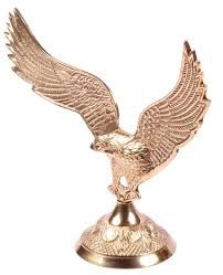 color falcon figurine in brass u2013 decorative showpieces mantel