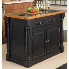 black granite kitchen island kitchen island granite ebay