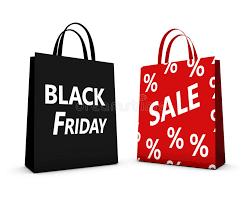 black friday sale sign black friday sale shopping bag stock illustration image 47405950
