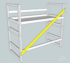 How To Make A Platform Bed From A Regular Bed by How To Turn A Bunk Bed Into A Loft Bed