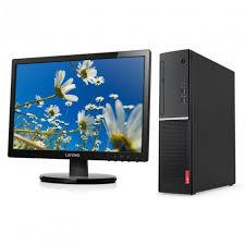 ordinateur bureau lenovo ordinateur de bureau lenovo v520s avec ecran li2054 19 5 iris ma