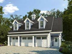 Three Car Garage With Apartment Plans Carriage House Plans Craftsman Style Garage Apartment Plan With
