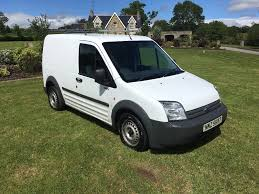 2009 ford transit connect 1 8tdci t200l white manual side
