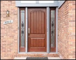 exterior rustic home exterior design of front door with double