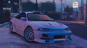 modified mitsubishi eclipse mitsubishi eclipse gsx add on gta5 mods com