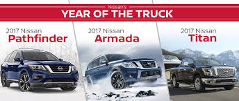 nissan truck 2017 nissan u0027s year of the truck 2017 nissan pathfinder vs 2017 armada