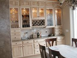 decorate the white glazed kitchen cabinets decorative furniture