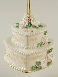 wedding cake ornament lenox our christmas together at replacements ltd
