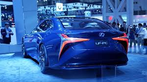 lexus ls v10 lexus lf fc 2016 ls tokyo motor show 2015 youtube