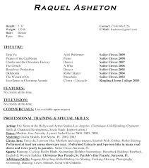 theatre resume template actor resume format theatre resume template best of theatre resume