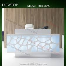 Spa Reception Desk Luxury Reception Desk Modern Front Desk Counter White Spa