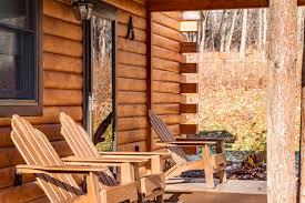 cabin porch cayuga lake cabin vacation rental cabin a
