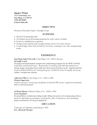 Football Coaching Resume Template Football Coach Resume Sample Personal Trainer Sample Resume