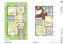 house map design 20 x 50 mesmerizing 20x30 house plans east facing exterior photos