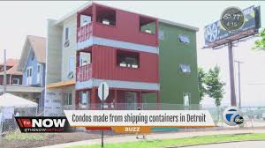 condos made from shipping containers youtube