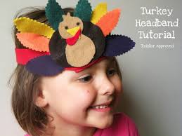 turkey headband toddler approved turkey day headband tutorial no sew