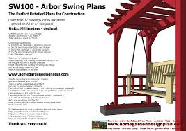 100 arbor swing plans how to build a pergola step by step