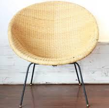 Modern Wicker Furniture by Mid Century Modern Wicker Hoop Chair Online Interior Design