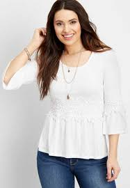 sleeve white blouse shirts blouses for maurices