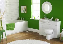 Idea For Bathroom Minimalist Bathroom Ideas With Green Color House Copper Bathtub