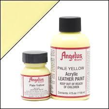Pale Yellow Paint Angelus Pale Yellow Paint