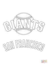 free printable baseball san francisco giants logo coloring pages quilt patterns