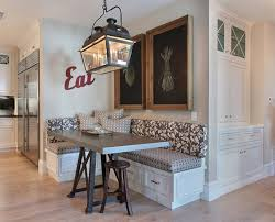 Table For Banquette Interior Photos Of Kitchens And Breakfast Nooks Full Home Living
