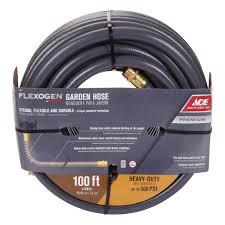 ace flexogen 5 8in x 100ft garden hose garden hoses ace hardware